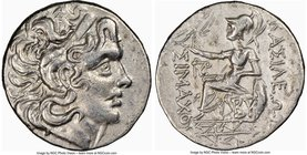 THRACE. Byzantium. Ca. 2nd-1st centuries BC. AR tetradrachm (29mm, 11h). NGC XF, brushed. Name and types of Lysimachus of Thrace. Diademed head of dei...