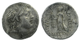 KINGS of CAPPADOCIA. Ariarathes V Eusebes Philopator. Circa 163-130 BC. AR Drachm