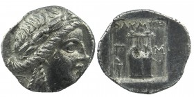 Lycia, Olympos as member of the Lycian League AR Drachm. Circa 167-100 BC
