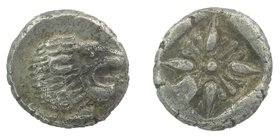IONIA, Miletos. Late 6th-early 5th century BC. AR