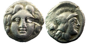 Selge, Pisidia. AR Obol c. 350-300 BC.