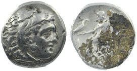 KINGS of MACEDON. Alexander III 'the Great'. 336-323 BC. AR Drachm