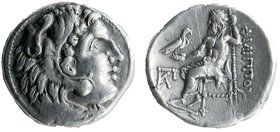 Kings of Macdeon. Philip III Arrhidaios (323-317 BC). AR Drachm