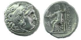 "Kings of Macedon. Kolophon. Alexander III ""the Great"" 336-323 BC. Drachm AR 