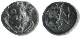 PISIDIA, Selge. 2nd-1st centuries B.C. AE.