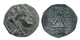 Cilicia, Tarsos 164-27 BC. AE