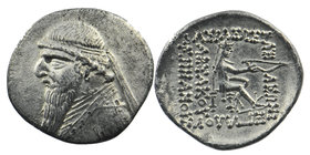 Parthian Kings. Mithradates II (123-88 BC). AR Drachm