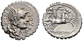The Collection of Roman Republican Coins of a Student and his Mentor Part III   L. Porcius Licinius, Licinius Crassus and Cn. Domitius Ahenobarbus. D...