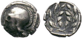 AEOLIS. Elaia. Obol (4th-3rd century BC).??