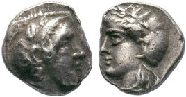 Uncertain mint AR Obol. Circa 4th century BC. ??  Condition: Very Fine  Weight: 0.90 gr Diameter: 10 mm