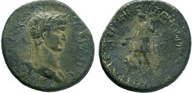 Claudius (41-54 AD). AE   Condition: Very Fine  Weight: 19.67 gr Diameter: 32 mm