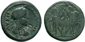 PISIDIA. Timbriada. Elagabalus. AD 218-222.