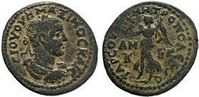 Cilicia, Maximinus I (235-238), Bronze, Tarsus, AD 235-238; AE Bronze. AΥ[T] K Γ IOY OYH MAΞIMEINOC C, laureate, draped and cuirassed bust r.; in fiel...