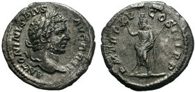 Caracalla 198-217 Denar ANTONINVS PIVS AVG GERM / PM TR P XVIII COS IIII P P  Condition: Very Fine  Weight: 2.11 gr Diameter: 19 mm