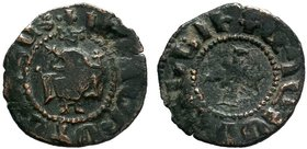 ARMENIA. Cilician Armenia. Levon IV, 1320-1342.AE Pogh . Levon seated facing on large throne, holding scepter in his right hand and cross in his left....