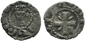 ARMENIA. Cilician Armenia. Levon V. 1374-1393. BI Denier . Crowned bust facing / Cross pattée. AC 503  Condition: Very Fine  Weight: 0.41 gr Diameter:...