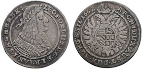 Leopold I, House of Habsburg. XV Kreuzer 1662  Condition: Very Fine  Weight: 5.54 gr Diameter: 29 mm