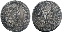 Hungary / Habsburg – Teil I. Leopold I. (1657-1705)  Condition: Very Fine  Weight: 5.97 gr Diameter: 30 mm