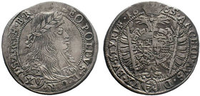 AUSTRIA, Holy Roman Empire. Leopold I. Emperor, 1657-1705. AR   Condition: Very Fine  Weight: 6.35 gr Diameter: 29 mm