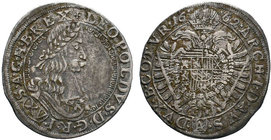 AUSTRIA, Holy Roman Empire. Leopold I. Emperor, 1657-1705. AR   Condition: Very Fine  Weight: 5.50 gr Diameter: 29 mm