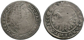 German Cities AR. 1664  Condition: Very Fine  Weight: 6.72 gr Diameter: 28 mm