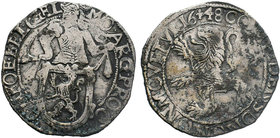 NETHERLANDS. Gelderland. AR lion daalder  Condition: Very Fine  Weight: 27 gr Diameter: 42 mm