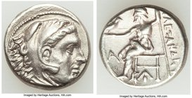 MACEDONIAN KINGDOM. Alexander III the Great (336-323 BC). AR drachm (16mm, 4.25 gm, 10h). About XF. Early posthumous issue of Sardes, ca. 323-319 BC. ...