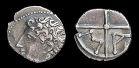 GAUL, Massalia, c. 200-120 BCE, AR obol. 0.60g, 9mm.