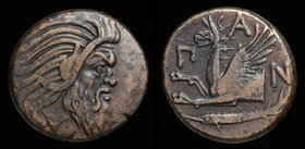 CIMMERIAN BOSPORUS, Pantikapaion, c. 310-303BC, AE 22. 7.61g, 21.5mm