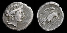 EUBOEA, Chalkis, c. 290-271 BCE, AR drachm. 3.32g, 16mm. 