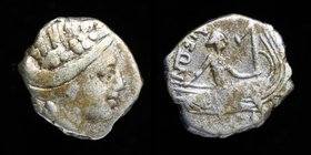 EUBOEA, Histiaia, 3rd to 2nd c. BCE, AR Tetrobol. 1.38g, 12mm.