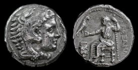 KINGS OF MACEDON: Alexander III 'the Great' (336-323 BCE), AR Tetradrachm, issued c. 332-326 BCE. Amphipolis, 17.00g, 26mm.