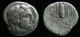 THRACIAN CHERSONESOS, Lysimacheia, 309-220 BCE. 3.53g, 17mm.
