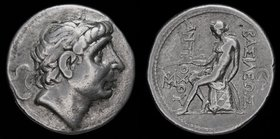 SELEUKID KINGDOM: Antiochos II Theos (261-246 BCE), AR tetradrachm. Seleukeia on Tigris, 16.72g, 30mm. 