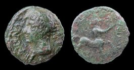 CELTIC: Britain (Trinovantes/Catuvellauni) Cunobelinus (c. 8-41 CE), bronze unit. 2.38g, 16mm. 