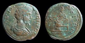 MACEDON, Amphipolis: Septimius Severus (193-211). 7.19g, 22mm.