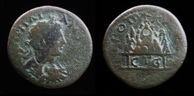 CAPPADOCIA, Caesarea: Elagabalus (218-222), Dated RY 5 (AD 222). 10.99g, 26.5mm.