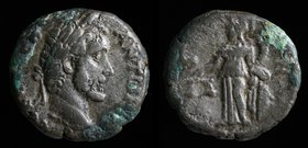 EGYPT, Alexandria: Antoninus Pius (138-161) BI Tetradrachm, dated RY 7 = 143/144. 12.76g, 22mm.