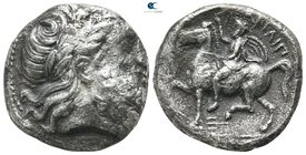 Kings of Macedon. Amphipolis. Philip II of Macedon 359-336 BC. Struck circa 355-349/8 BC. Tetradrachm AR
