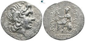 Kings of Thrace. Byzantion. Macedonian. Lysimachos 305-281 BC. Tetradrachm AR