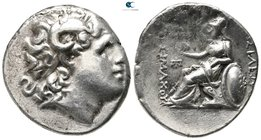 Kings of Thrace. Ephesos. Macedonian. Lysimachos 305-281 BC. Tetradrachm AR