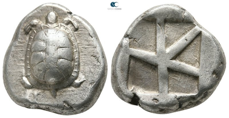 Islands off Attica. Aegina 445-430 BC. 