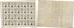 Country : FRANCE  Face Value : 10 Sous Planche  Date : 23 mai 1793  Period/Province/Bank : Assignats  Catalogue reference : Ass.40bp  Alphabet - signa...