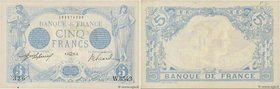 Country : FRANCE  Face Value : 5 Francs BLEU  Date : 03 avril 1915  Period/Province/Bank : Banque de France, XXe siècle  Catalogue reference : F.02.26...