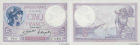 Country : FRANCE  Face Value : 5 Francs VIOLET  Date : 20 août 1923  Period/Province/Bank : Banque de France, XXe siècle  Catalogue reference : F.03.0...