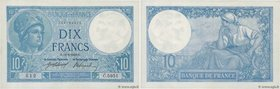 Country : FRANCE  Face Value : 10 Francs MINERVE  Date : 12 juin 1918  Period/Province/Bank : Banque de France, XXe siècle  Catalogue reference : F.06...