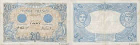 Country : FRANCE  Face Value : 20 Francs BLEU  Date : 17 mai 1912  Period/Province/Bank : Banque de France, XXe siècle  Catalogue reference : F.10.02 ...