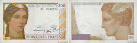Country : FRANCE  Face Value : 300 Francs  Date : (06 octobre 1938)  Period/Province/Bank : Banque de France, XXe siècle  Catalogue reference : F.29.0...