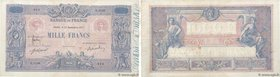 Country : FRANCE  Face Value : 1000 Francs BLEU ET ROSE  Date : 12 septembre 1917  Period/Province/Bank : Banque de France, XXe siècle  Catalogue refe...