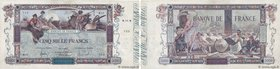 Country : FRANCE  Face Value : 5000 Francs FLAMENG  Date : 14 janvier 1918  Period/Province/Bank : Banque de France, XXe siècle  Catalogue reference :...